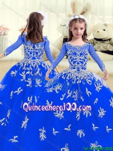 Cheap Beading and Appliques Mini Pageant Dresses