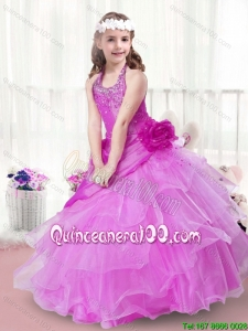 New Arrivals Hand Made Flowers Little Girl Pageant Dresses