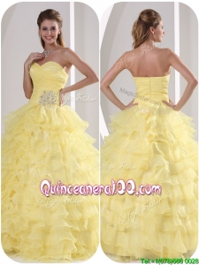 Exclusive Ball Gown Quinceaners Dresses with Appliques