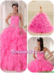 Perfect Ball Gown Strapless Quinceanera Gowns with Beading