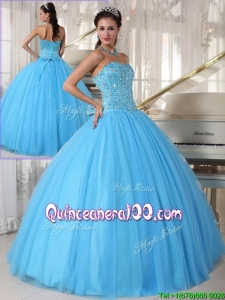 Unique Sweetheart Ball Gown Beading Sweet 16 Dresses