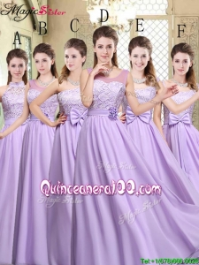 2016 Cheap Empire Lavender 2016 Bridesmaid Dresses
