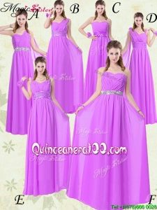 New Style Empire Ruching Bridesmaid Dresses for Fall