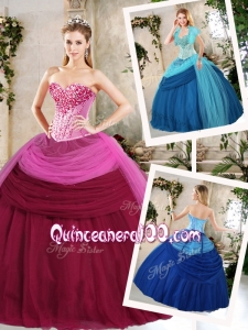 Pretty Ball Gown Beading Quinceanera Dresses for Fall