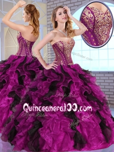2016 Top Selling Ball Gown Sweet 16 Dresses with Appliques and Ruffles