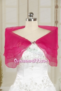 Hot Pink Fashionable Beading Orange 2014 Shawls