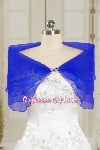 New Style Beading 2014 Shawls in Royal Blue