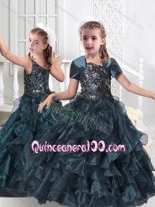 Hot Sale Hot Sale Mini Quinceanera Dresses with Beading and Ruffles