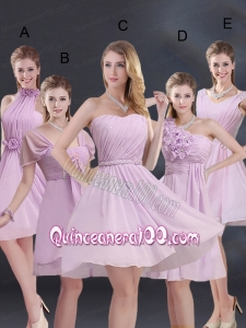 2015 Exquisite Dama Dress with Ruching