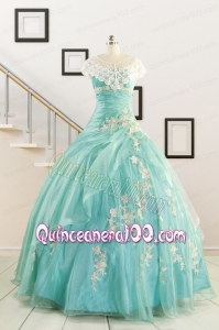 Ball Gown Sweetheart Cheap Quinceanera Dresses with Appliques