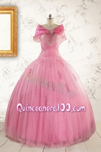 Most Popular Ball Gown Quinceanera Dresses with Strapless