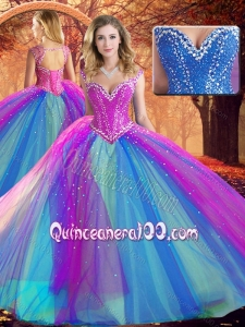 Lovely V Neck Quinceanera Dresses with Beading