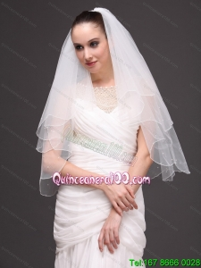 Two-tier Organza Graceful Wedding Veil