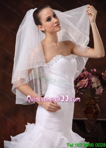 Two-tier Tulle Bridal Veil On Sale