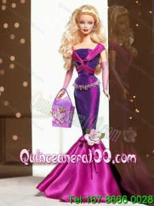 Fashion Handmade Mermaid Dress With Flower Made to Fit the Barbie Doll