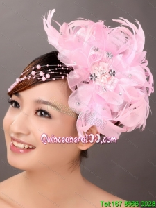 Perfect Beaded Feather Wedding Fascinators
