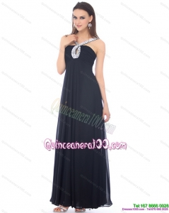 2015 Cheap Black Dama Dresses with Beading