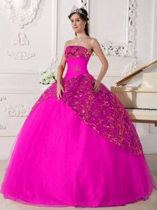 Hot pink puffy | new quinceanera dresses