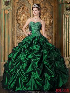 Dark Green Quinceanera Dresses & Gowns - Quinceanera 100