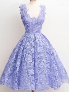 Straps Sleeveless Lace Dama Dress for Quinceanera Lace Zipper