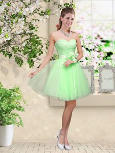 Court Dresses for Sweet 16 Prom and Party with Lace and Belt Sweetheart Sleeveless Lace Up