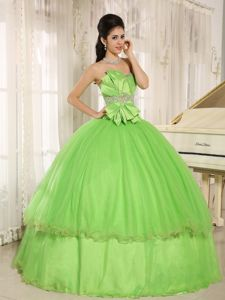 Pick-ups and Ruffles Strapless Dresses Quinceanera Custom Made