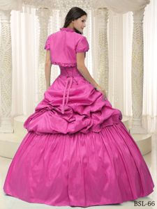 Dashing Appliques Sweetheart Dress for Quince with Floor-length
