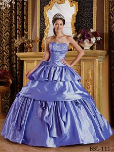 Sweetheart Purple Beading 2013 Wholesale Dress for Quinceaneras