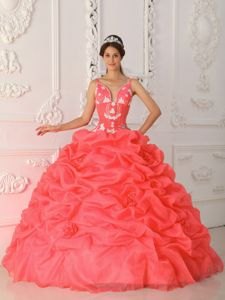 Straps Pick ups Sweet Sixteen Quinceanera Dresses