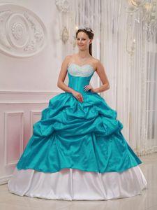 Teal Quinceanera Dresses 2013 Unique 2014 Disney Pri...