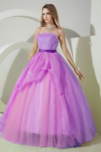 Simple Princess Strapless Strapless Quinceanera Party Dresses