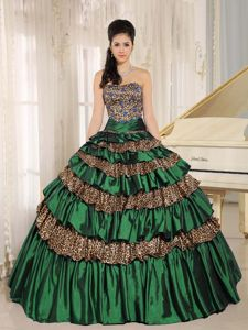 Vote for Your Favorite 2014 Los Angeles Cover Girl Online Multi-color Ruffled Quinceanera Dresses