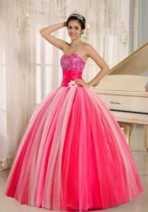 Multi-color Sweetheart Tulle Quinceanera Gown Dresses New Arrival