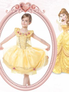 Clasp Handle Scoop Sleeveless Toddler Flower Girl Dress Knee Length Beading and Hand Made Flower Gold Organza