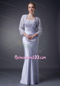 2014 The Super Hot Lilac Mother Of The Dress with Appliques